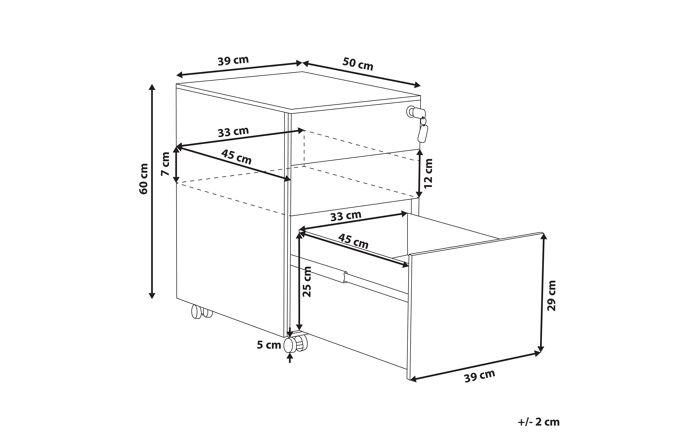 Stalčių blokas YZ3684