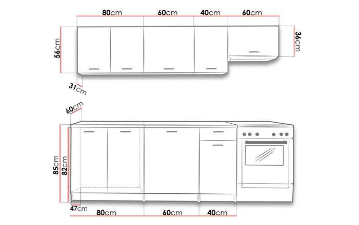 Virtuvės komplektas UO10