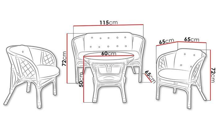 Lauko baldų komplektas PK313
