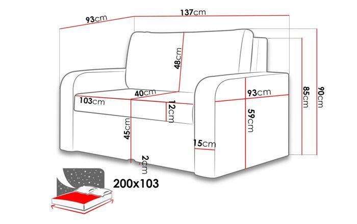 Sofa lova UH2