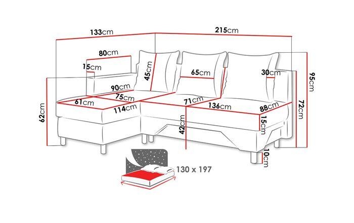 Ъглов диван MT62