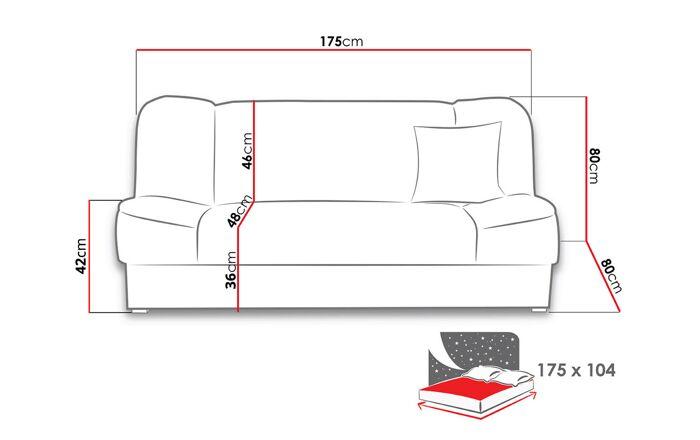 Sofa lova RP35