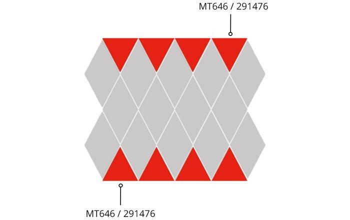 Minkšta sienos plokštė MT645 (33x33)