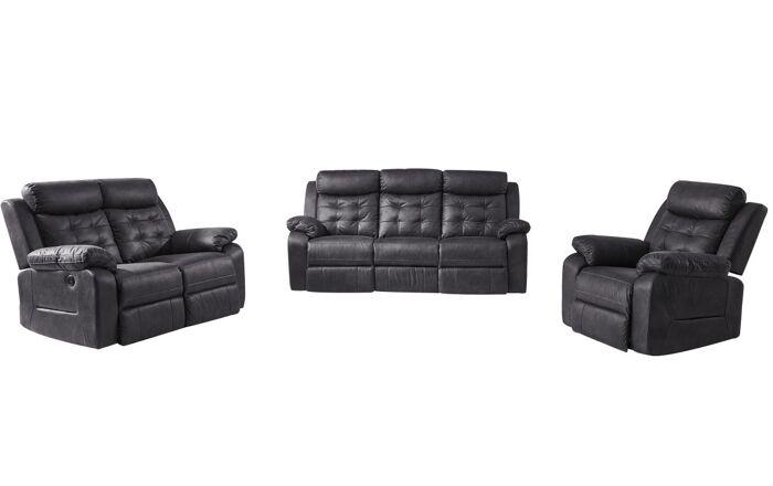 Trivietė sofa reglaineris UV43