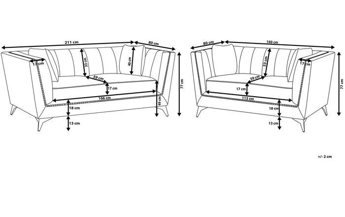Minkštų baldų komplektas YZ459