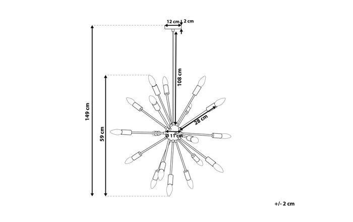 Pakabinamas šviestuvas YZ1642