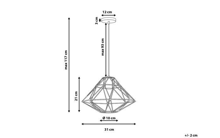 Pakabinamas šviestuvas YZ1794