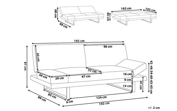 Dvivietė sofa YZ2983