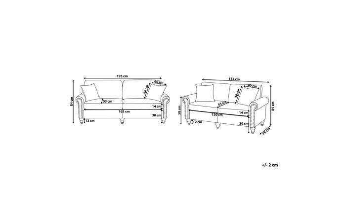 Minkštų baldų komplektas YZ3033
