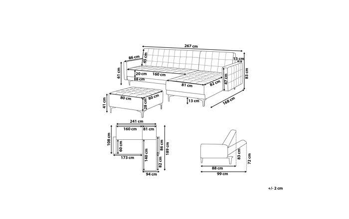 Minkštų baldų komplektas YZG31